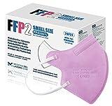 20 FFP2/KN95 Maske Rose CE Zertifiziert Kleine Größe Small, Medizinische...