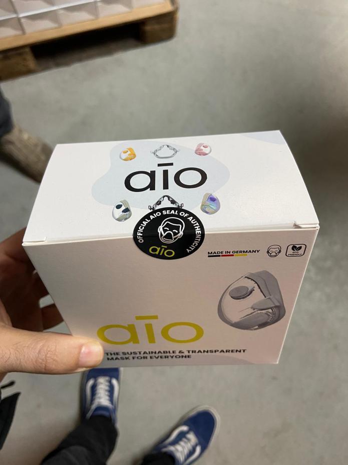 AIO Maske Lieferung Verpackung