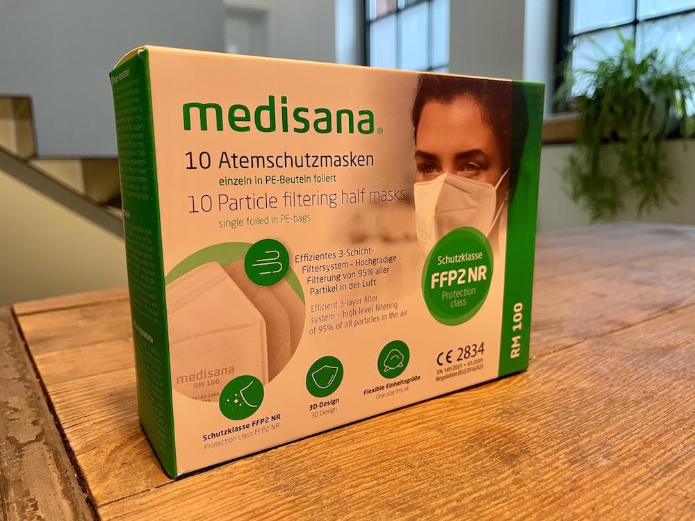 Test Medisana FFP2 Maske