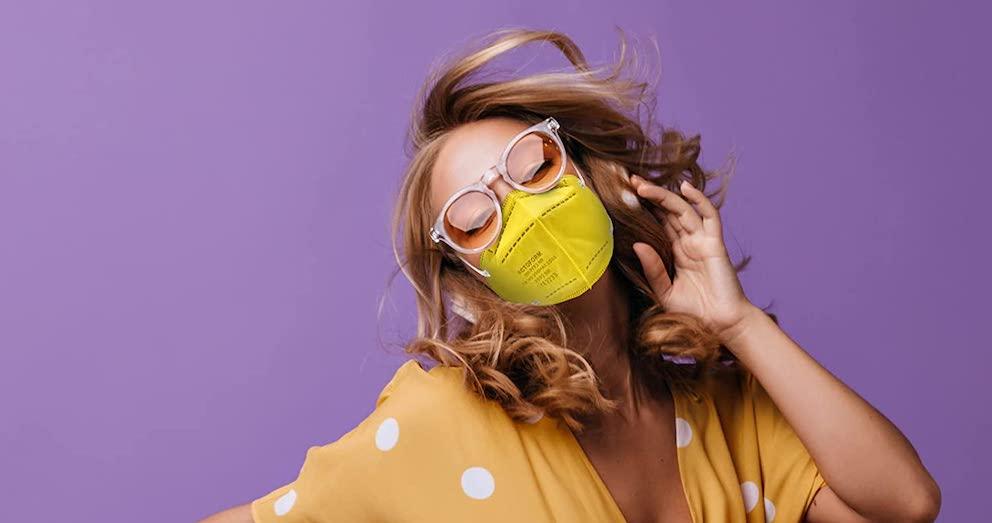 Bunte farbige FFP2-Masken kaufen